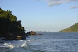Praia do norte de Ubatuba
