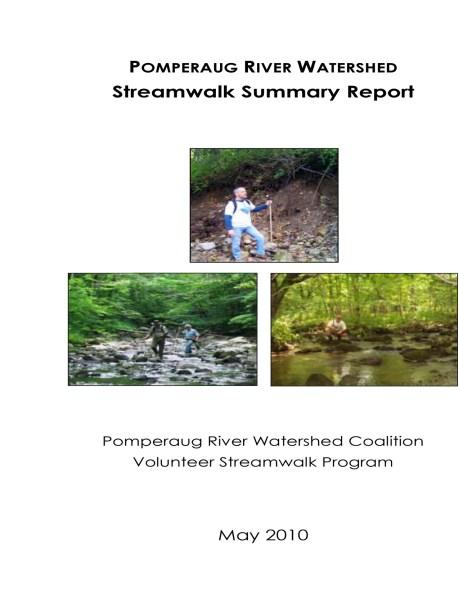 Streamwalk Report Cover