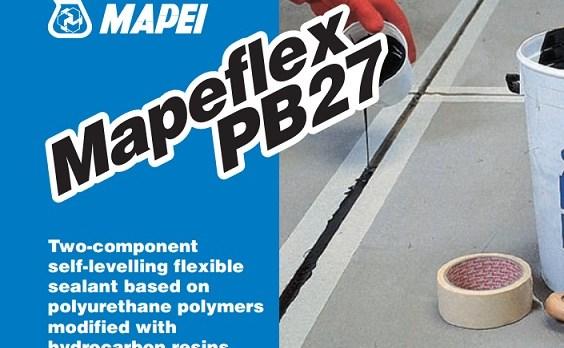 MAPEFLEX PB27 - Thi công