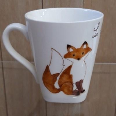 """Mug """"les animaux de la fôret"""""""
