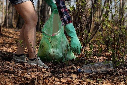 Ramasser les déchets