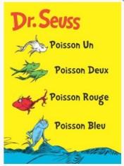 poisson un poisson deux dr seuss