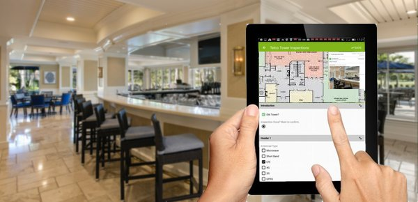 MapGage can use the golf clubs floor plans to create a geospatial mobile app to collect maintenance records of all issues around the golf club house.