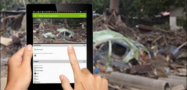 MapGage mobile geospatial app to collect disaster relief effort data and to combine with drone mapping to better manager pst disaster aid work.
