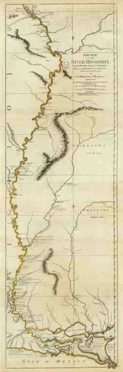 Old Historical City County And State Maps Of Mississippi