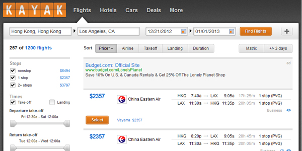 Why You Should Buy a Plane Ticket on Tuesday via @maphappy