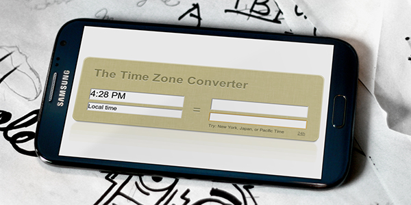 Call During the Day With The Time Zone Converter via @maphappy