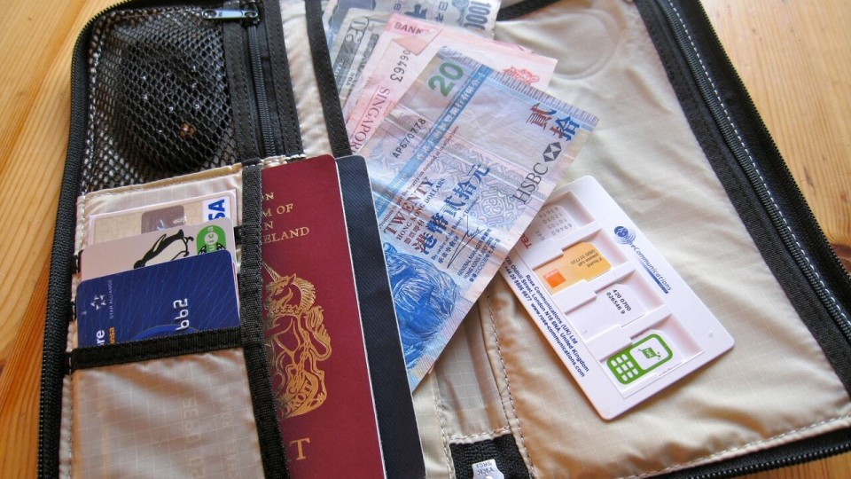 What Do You Carry in Your Wallet When You Travel? via @maphappy