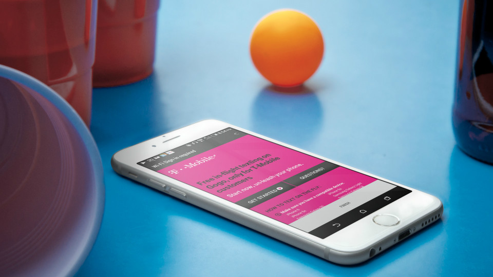 T-Mobile Offers Free In-Flight Texting With Gogo via @maphappy