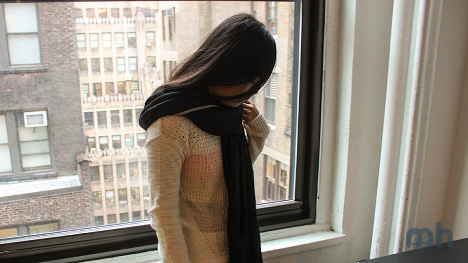 The likemary Oversize Scarf Is Pretty Much a Fashionable Blanket via @maphappy
