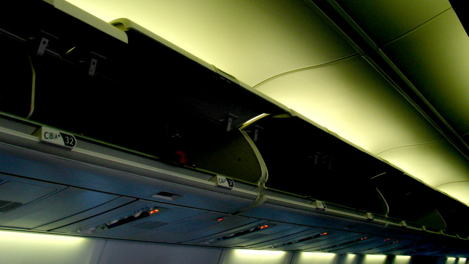 Stop Fighting for Overhead Bin Space Already via @maphappy