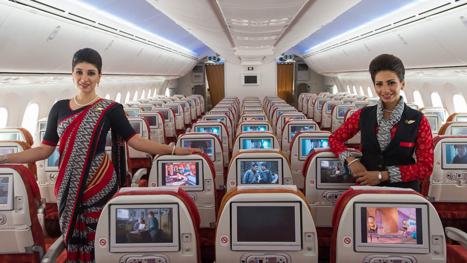 Air India Reserves Special Seating for Solo Female Travelers via @maphappy