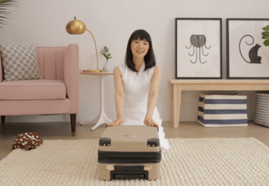 The Joy of Watching Marie Kondo Pack a Suitcase.