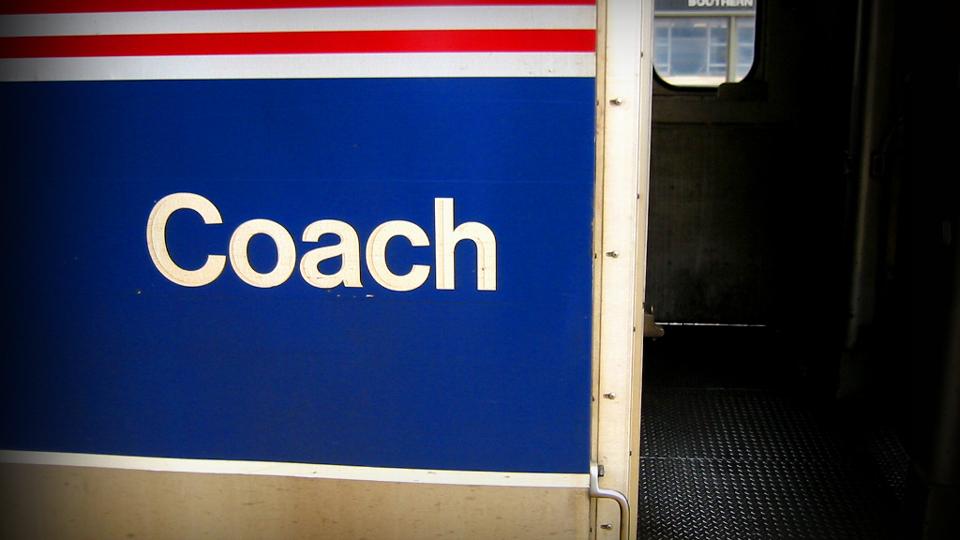 How To Sleep On an Overnight Amtrak Train in Coach via @maphappy