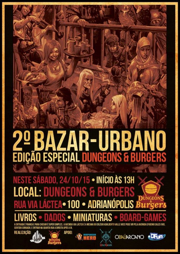 Bazar Urbano - Mapingua Nerd