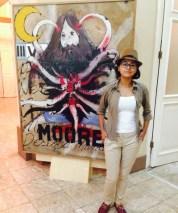 Uma das organizadoras, SarahFarias