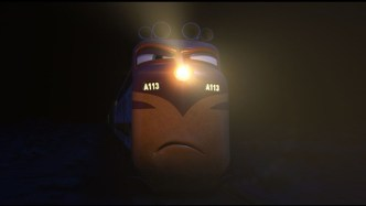"""""""A113"""" moment in CARS. ©Disney/Pixar. All Rights Reserved."""