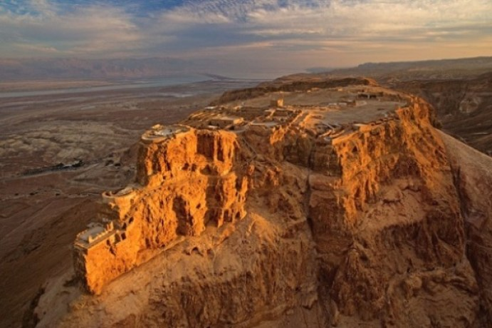 long_view_of_masada_at_sunset