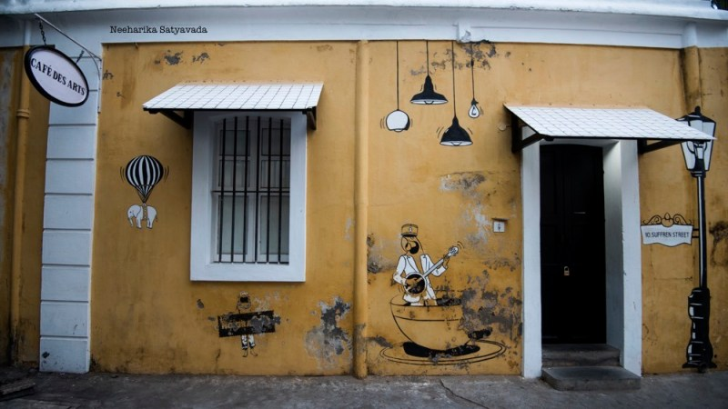 Pondicherry Cafes_Cafe des Arts_Review