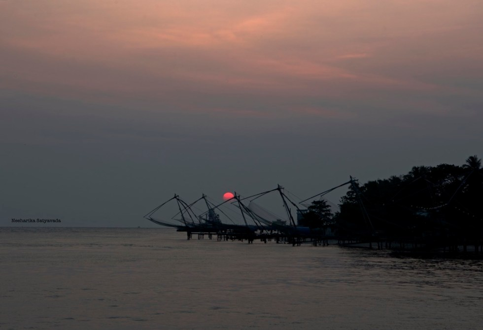 Kerala Chinese Fishing Nets_Bolgatty Cruise_Fort Kochi