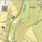 WMS – Czech Republic – Topographic map