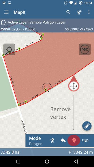 Remove Vertex