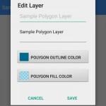 Edit Layer screen.