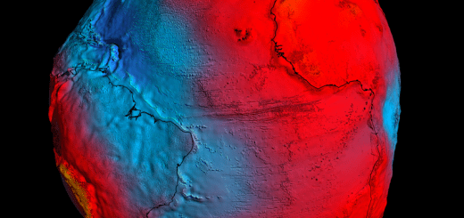 3D view of the geoid model