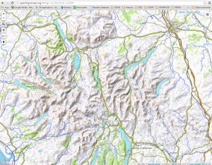 OpenTopoMap – Lake District UK