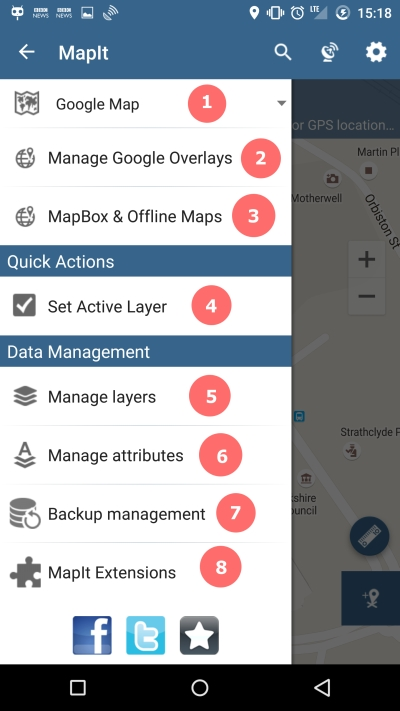 MapIt - Navigation Drawer