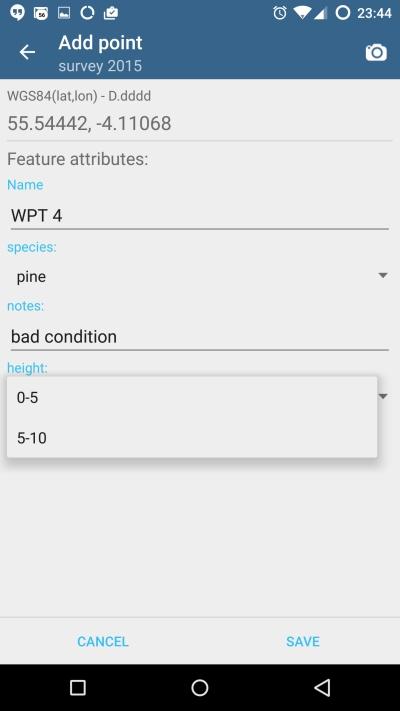 Add Data - attribute set