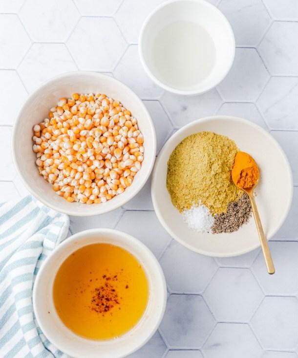 Turmeric popcorn ingredients
