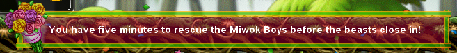 ''Help Rescue the Miwok Boys!'' and ''Spring into Spirit!'' (4/6)