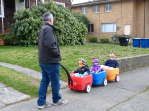 Oompa the wagon driver
