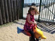 Sienna at the playground