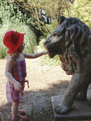 Hi, Lion. Can I inspect your dental hygiene?