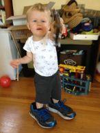 """Jamie is """"runnin' a triathlon"""" like Daddy."""