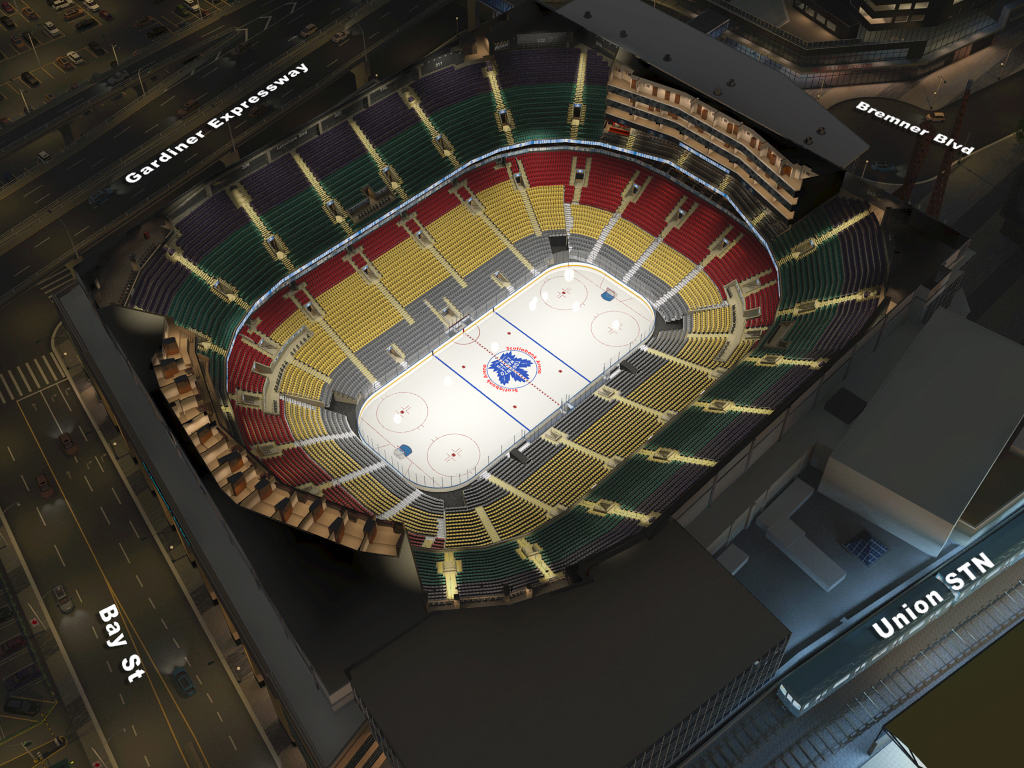 Maple Leafs Seating Chart Acc