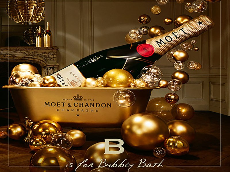 MOËT & CHANDON: ¡SO BUBBLY!