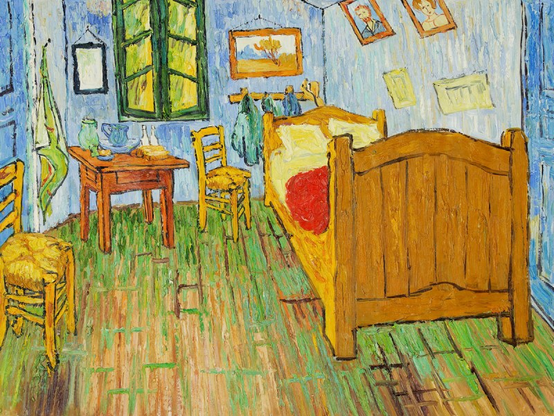 SWEET DREAMS EN LA CAMA DE VAN GOGH EN CHICAGO