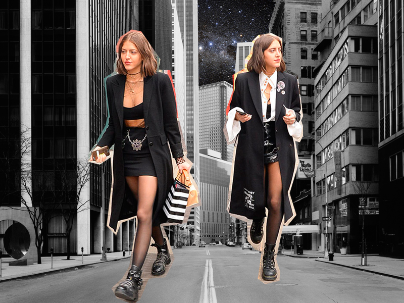 SIMI & HAZE KHADRA, LAS GEMELAS 'IT-GIRL'