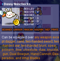 Bunny Nunchucks