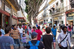 Out for a stroll in Puebla