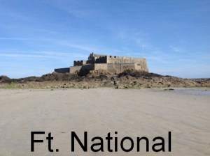 Fort National in St. Malo
