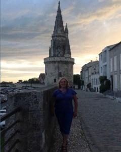Susan at La Rochelle