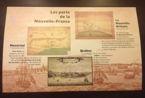 Display at the New World Museum in La Rochelle