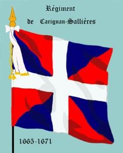 Carignan-Salière regimental flag