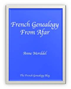 French Genealogy from Afar cover