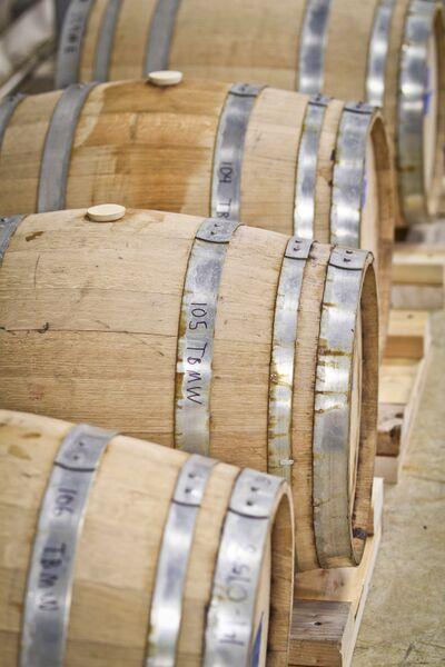 Runamok Bourbon Barrel-aging Barrels