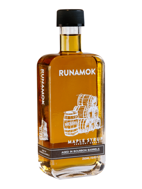 Runamok Bourbon Barrel-aged Maple Syrup